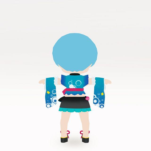 初音ミク-SUMMER VACATION 2021版衣装 (ちび化体)_2