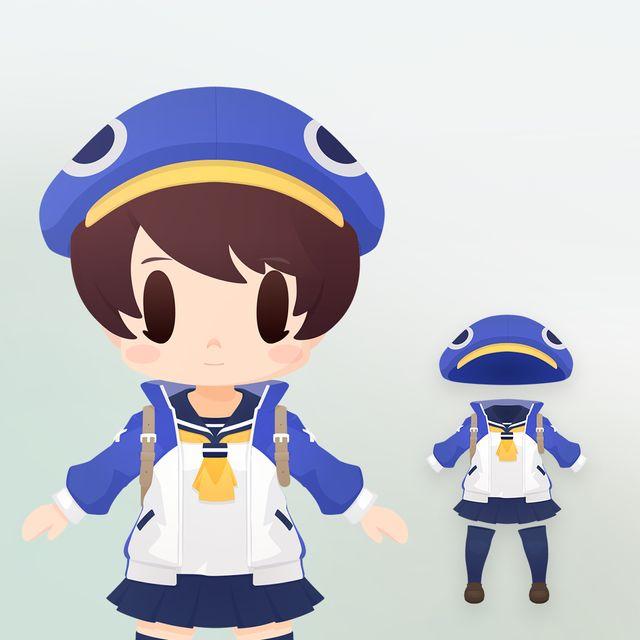 風祭フーカ 衣装(ちび化体)_0