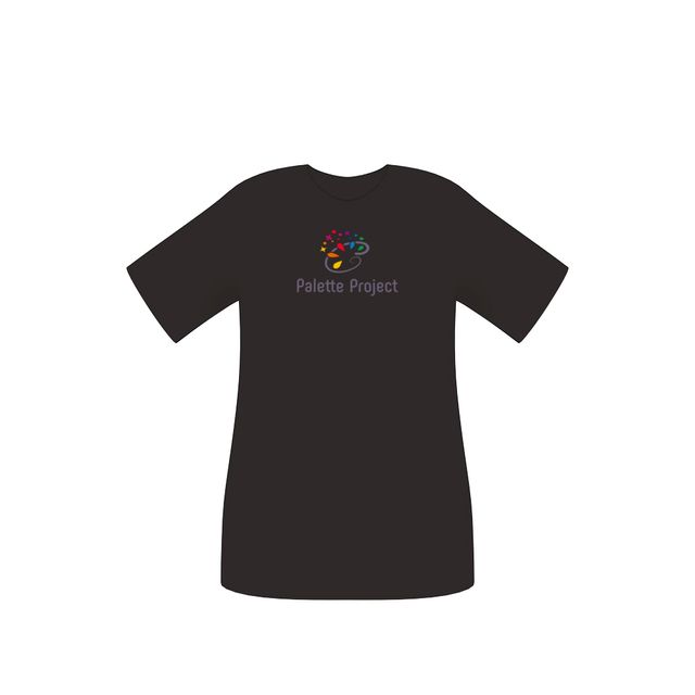 Tシャツ-Palette Projectロゴver-