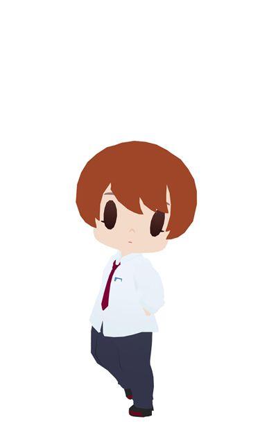 舞浜南高校男子制服(ちび化体)