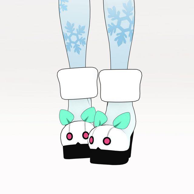 なりきり衣装セット Type:初音ミク MIKU LAND β Snow World 2021衣装_5