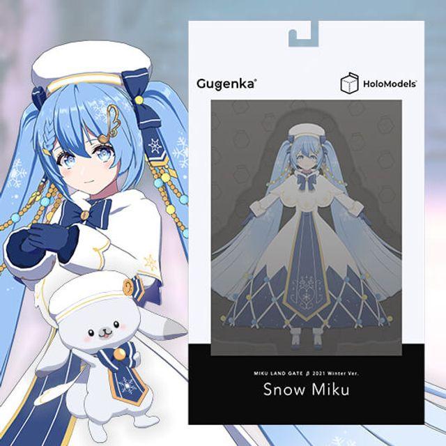 雪ミク SNOW MIKU 2021 Ver.