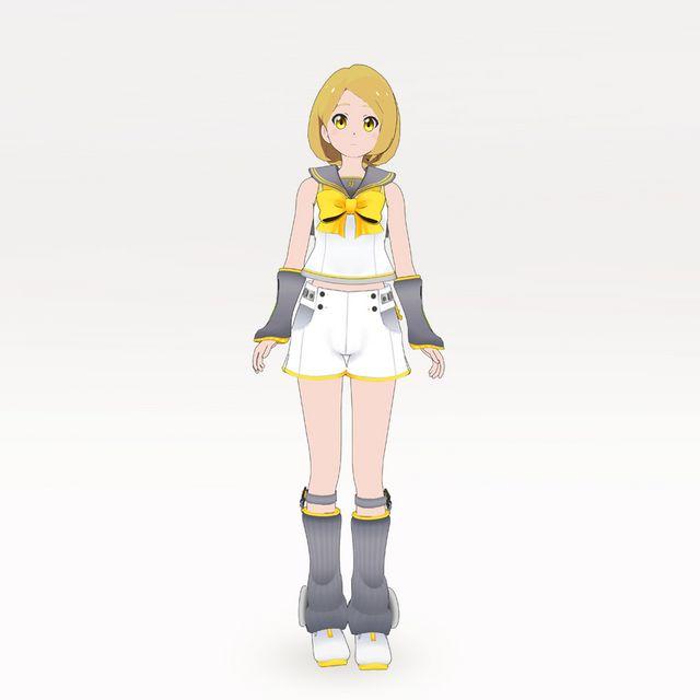 なりきり衣装セット Type:鏡音リン_1
