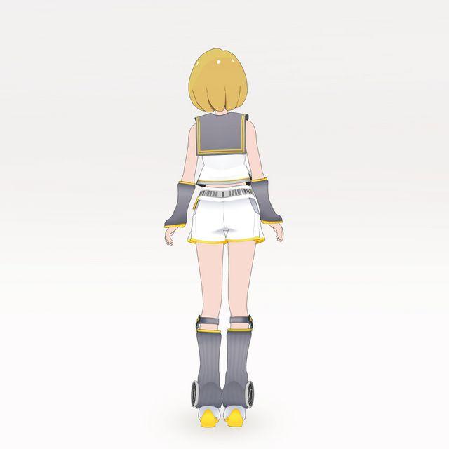なりきり衣装セット Type:鏡音リン_2