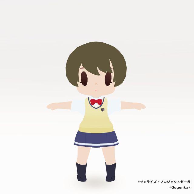 舞浜南高校女子制服(ちび化体)_1