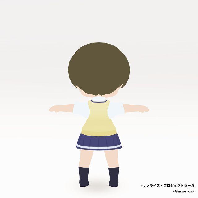 舞浜南高校女子制服(ちび化体)_2
