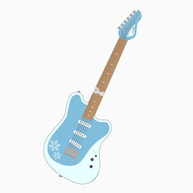 エレキギター-MIKULAND β Snow World 2021